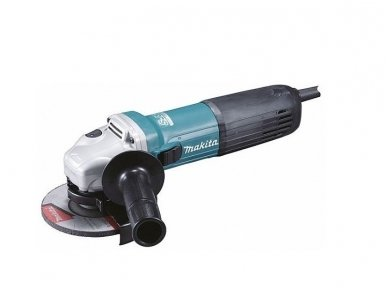 Kampinis šlifuoklis Makita GA5040RF01, 1100W, 125 mm