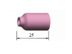 53N Keramikinė tūta TIG suvirinimo aparatams, ilgis 25 mm, Nr. 4 5 6 7