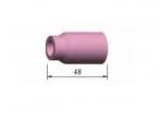 796F Keramikinė tūta TIG suvirinimo aparatams, ilgis 48 mm, Nr. 4 5 6