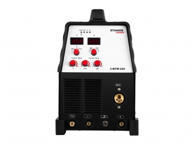 STAMOS S-MTM 22 Kombinuotas pusautomatis MIG/ TIG/MMA, 220A, 230V 2