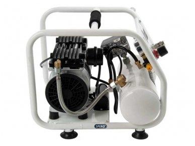 Kompresorius 4L, 230V, 9 bar, žemo triukšmo 4