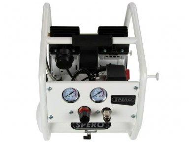 Kompresorius 4L, 230V, 9 bar, žemo triukšmo 5