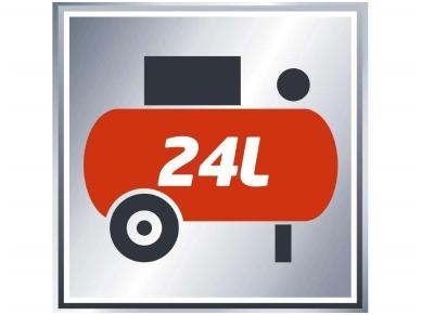Einhell TE-AC 230/24 Kompresorius, 24l, 230V, 8 bar 2