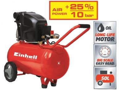 Einhell TE-AC 270/50/10 Kompresorius, 50l, 230V, 10 bar 2