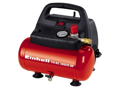 Kompresorius Einhell TH-AC 190/6, 6l, 230V, 8 bar