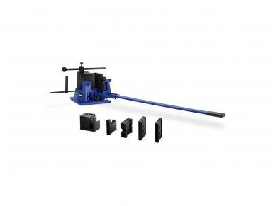 Lakštinio metalo lenkimo staklės MSW-UB100, 100 mm, 120° 2