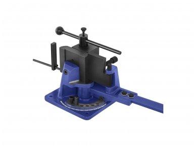 Lakštinio metalo lenkimo staklės MSW-UB100, 100 mm, 120° 3