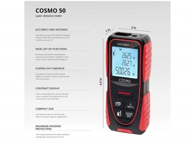 ADA COSMO 50 Lazerinis atstumo matuoklis, matavimo diapazonas iki 50 m 6