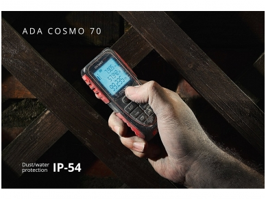 ADA COSMO 70 Lazerinis atstumų matuoklis, matavimo diapazonas iki 70 m 2