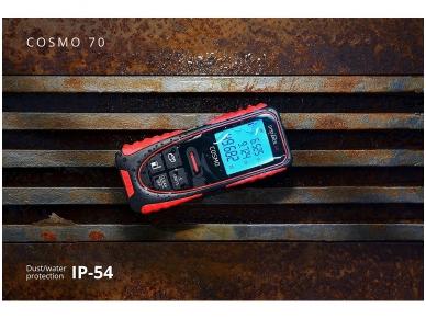 ADA COSMO 70 Lazerinis atstumų matuoklis, matavimo diapazonas iki 70 m 3