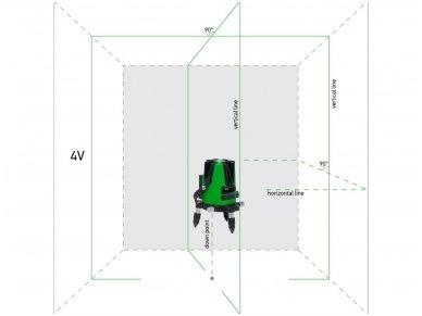 ADA 3D LINER 4V GREEN Lazerinis nivelyras 2