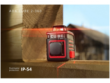 ADA Cube 2-360 Lazerinis nivelyras 8