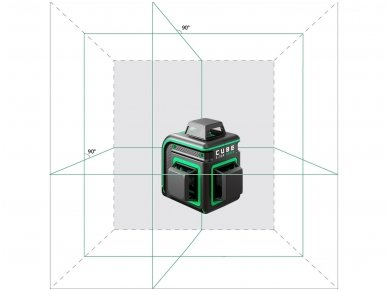 ADA CUBE 3-360 GREEN Lazerinis nivelyras Ultimate Edition 2