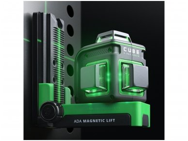 Lazerinis nivelyras ADA CUBE 3-360 GREEN Ultimate Edition 13