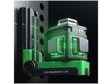 ADA CUBE 3-360 GREEN Lazerinis nivelyras Ultimate Edition 13