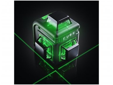ADA CUBE 3-360 GREEN Lazerinis nivelyras Ultimate Edition 14