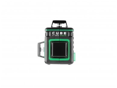 Lazerinis nivelyras ADA CUBE 3-360 GREEN Ultimate Edition 3