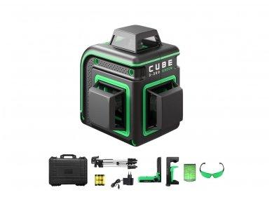 Lazerinis nivelyras ADA CUBE 3-360 GREEN Ultimate Edition
