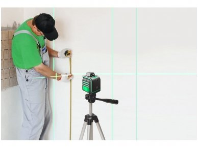ADA CUBE 360 2V GREEN Lazerinis nivelyras Professional Edition 6