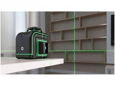 ADA CUBE 360 2V GREEN Lazerinis nivelyras Professional Edition 7