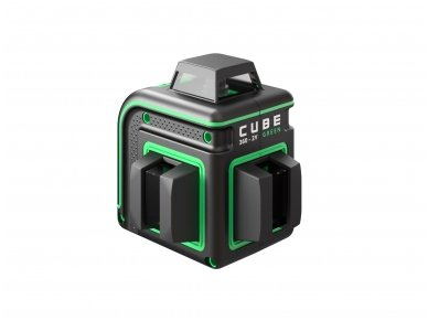 ADA CUBE 360 2V GREEN Lazerinis nivelyras Professional Edition 3