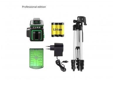 ADA CUBE 360 2V GREEN Lazerinis nivelyras Professional Edition 8