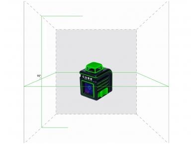 Lazerinis nivelyras ADA CUBE 360 Green ULTIMATE EDITION 2