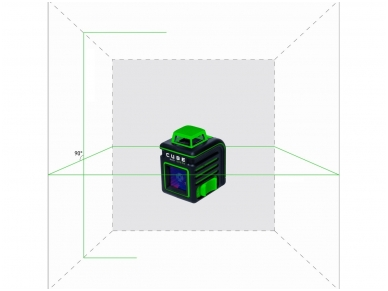 Lazerinis nivelyras ADA CUBE 360 Green ULTIMATE EDITION 2