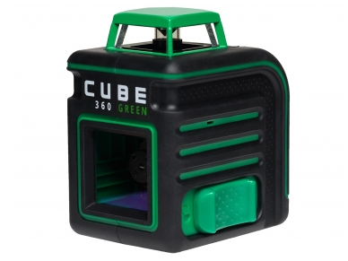 Lazerinis nivelyras ADA CUBE 360 Green ULTIMATE EDITION