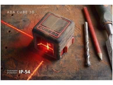 ADA Cube 3D Lazerinis nivelyras 7