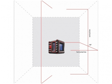 ADA Cube 3D Lazerinis nivelyras 3