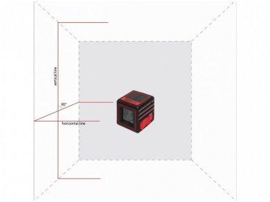 Lazerinis nivelyras ADA CUBE, komplektacija Home 4