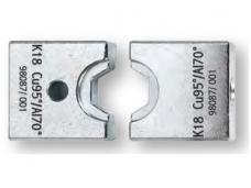 Matricos variui ir aliuminiui, šešiabriaunės, replėms HPZ 80.1 / APZ 80