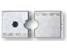 Matricos variui ir aliuminiui, apvalios, replėms HPZ 80.1 / APZ 80