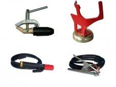 Masės kabeliai ir elektrodų laikikliai