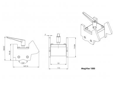 Magnetas laikiklis Magvise 8