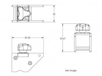 Magnetinis kampas Mini Angle 5
