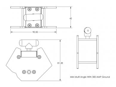 Magnetinis kampas Mini Angle 7