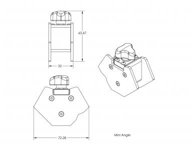 Magnetinis kampas Mini Angle 6