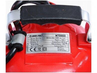 MAR-POL Vandens pompa nešvariam vandeniui 2
