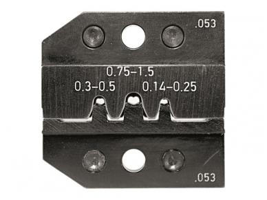 Matricos PEW 12, vamzdiniams ir štampuotiems antgaliams