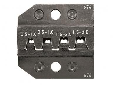 Matricos PEW 12, vamzdiniams ir štampuotiems antgaliams 3