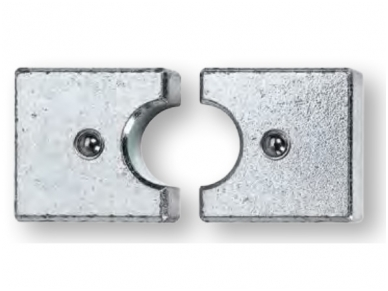 Matricos variui ir aliuminiui, apvalios, replėms HPZ 50.1 / APZ 50