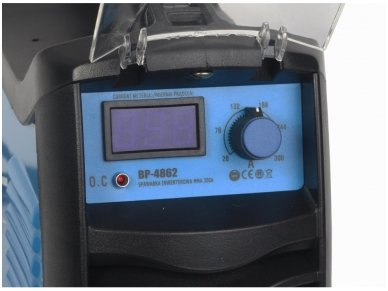 Mėgėjiškas suvirinimo aparatas MMA 300A IGBT 5