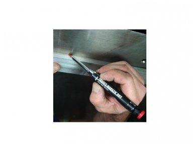 Metalinis pieštukas su grafitine šerdele