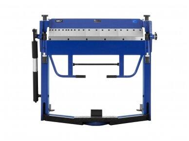 MSW-PBR-1020 lakštinio metalo lenkimo įrenginys, segmentinis 1020 mm 2