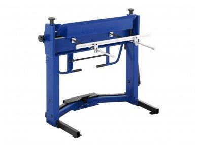 MSW-PBR-1020 lakštinio metalo lenkimo įrenginys, segmentinis 1020 mm 3