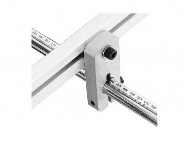 MSW-PBR-1270 lakštinio metalo lenkimo įrenginys, segmentinis 1270 mm 3