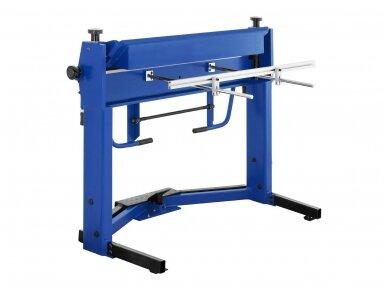 MSW-PBR-1270 lakštinio metalo lenkimo įrenginys, segmentinis 1270 mm 5