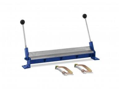MSW-PBR-460 lakštinio metalo lenkimo staklės, 460 mm